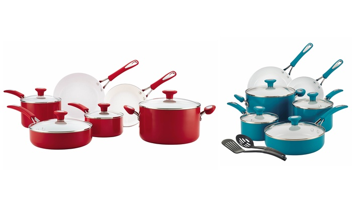 66% Off on Ceramic Cookware Set (12Pc).