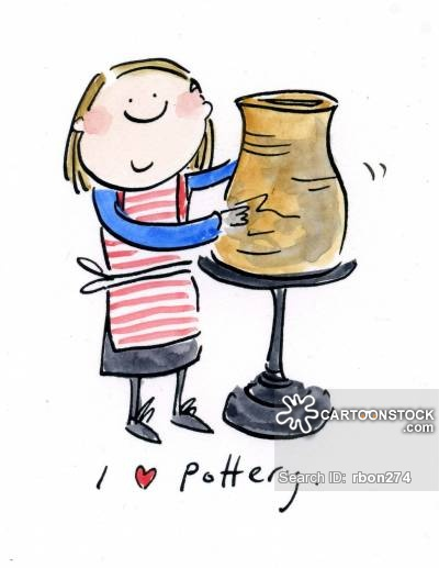 Pottery Cartoons and Comics.
