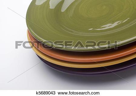 Stock Photo of Ceramic plates k5689043.
