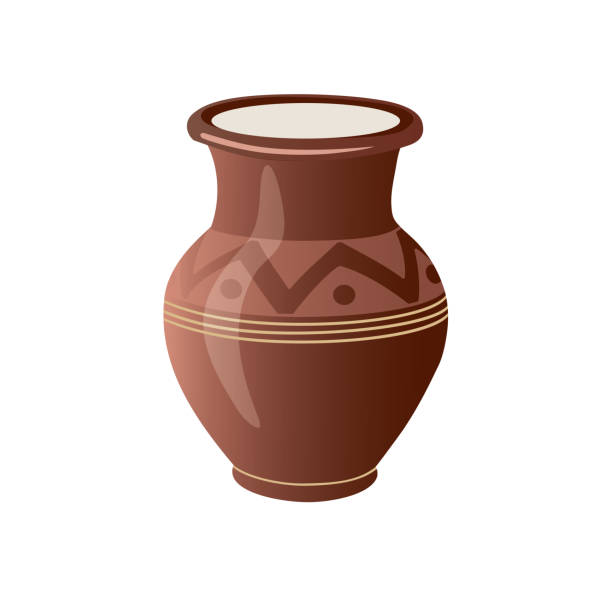 Best Clay Pot Illustrations, Royalty.