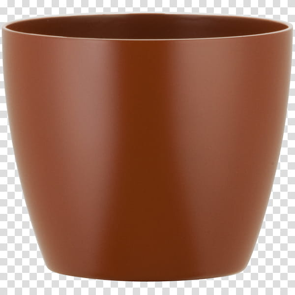 Background Orange, Canyon Pottery Company, Flowerpot.