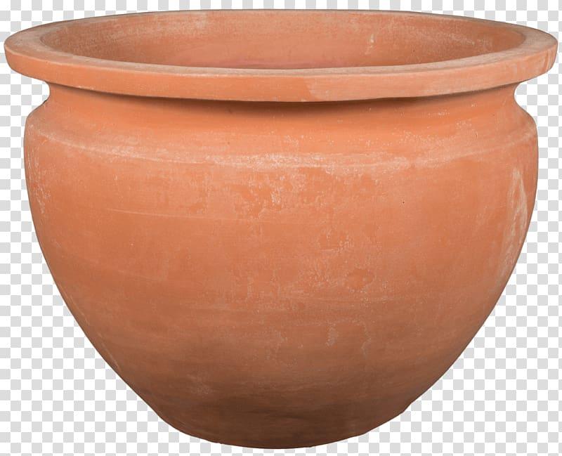 Ceramic Pottery Flowerpot Artifact Bowl, tuscan transparent.