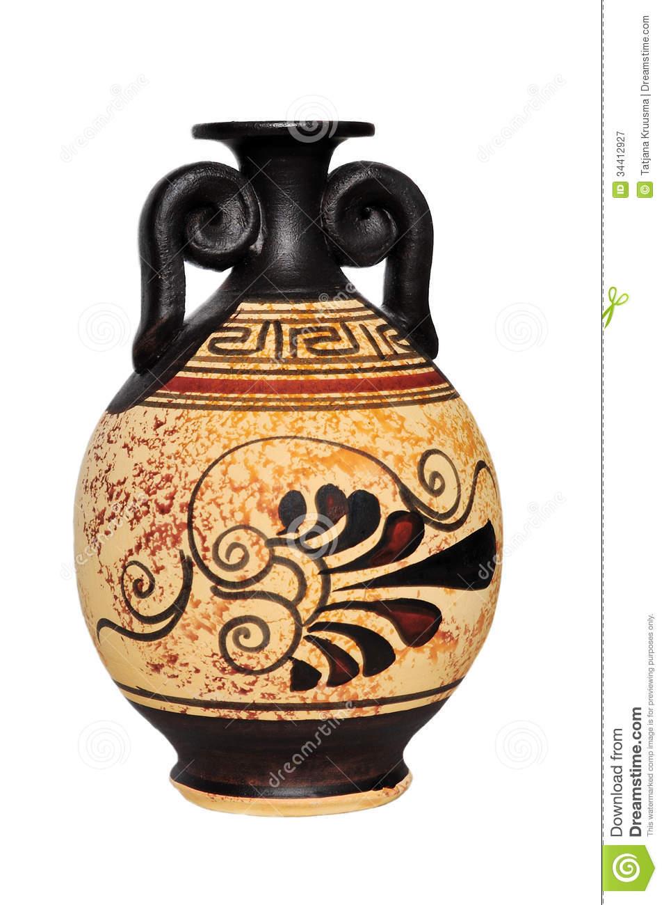 Ceramic Vase Royalty Free Stock Photography.