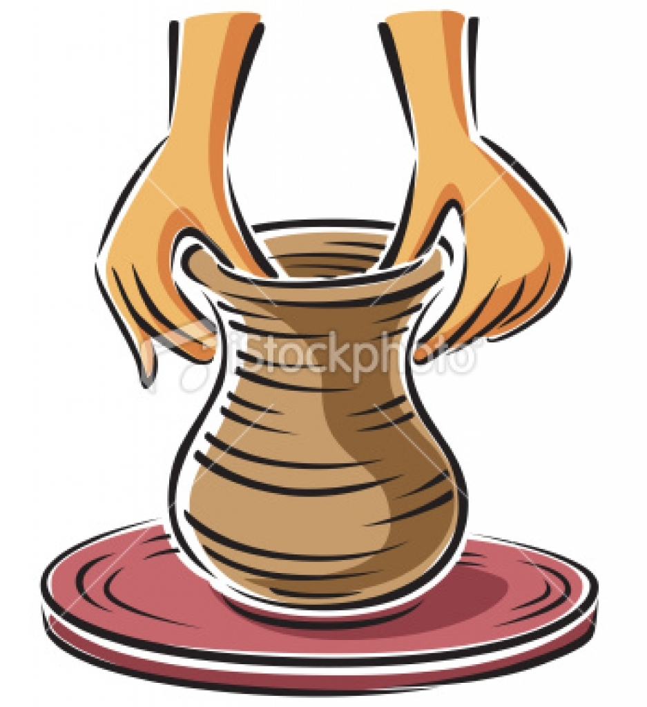 potters wheel clipart Hight Resulation pottery wheel clip art Top.