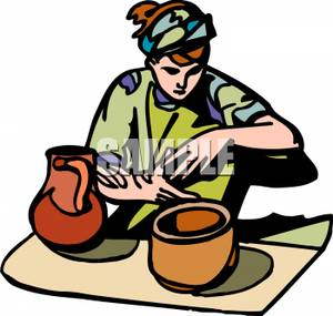 Pottery 20clipart.
