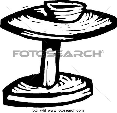 Clipart of ceramist, ceramic art, men, potter u17347074.