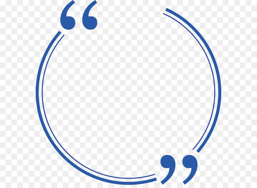 Blue Circle png download.