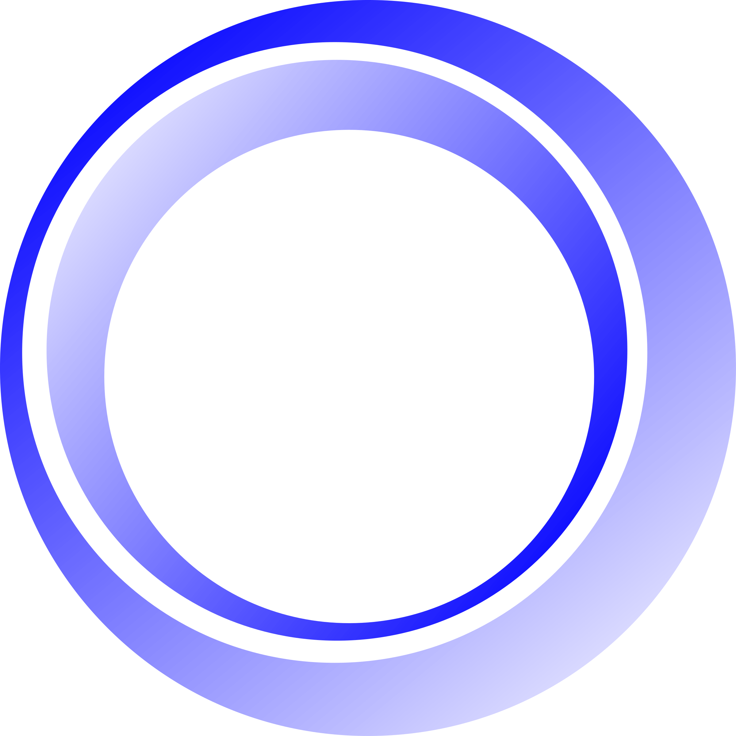 3D Blue Circle Png #44652.