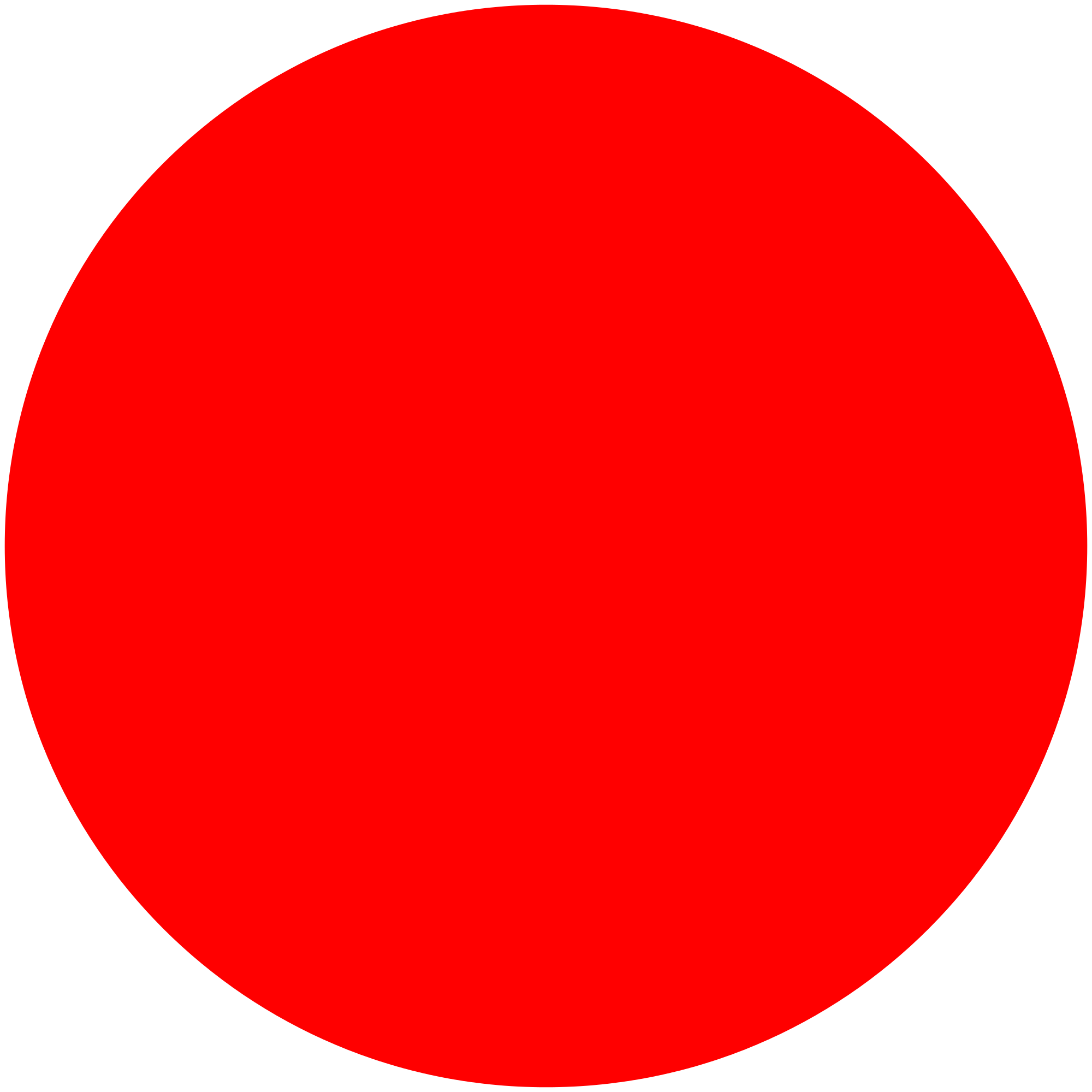 Red circle download free clipart with a transparent background.