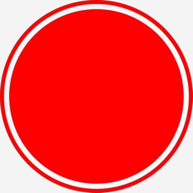 Cercle Rouge, Rouge, Circulaire, Simple Fichier PNG et PSD pour le.