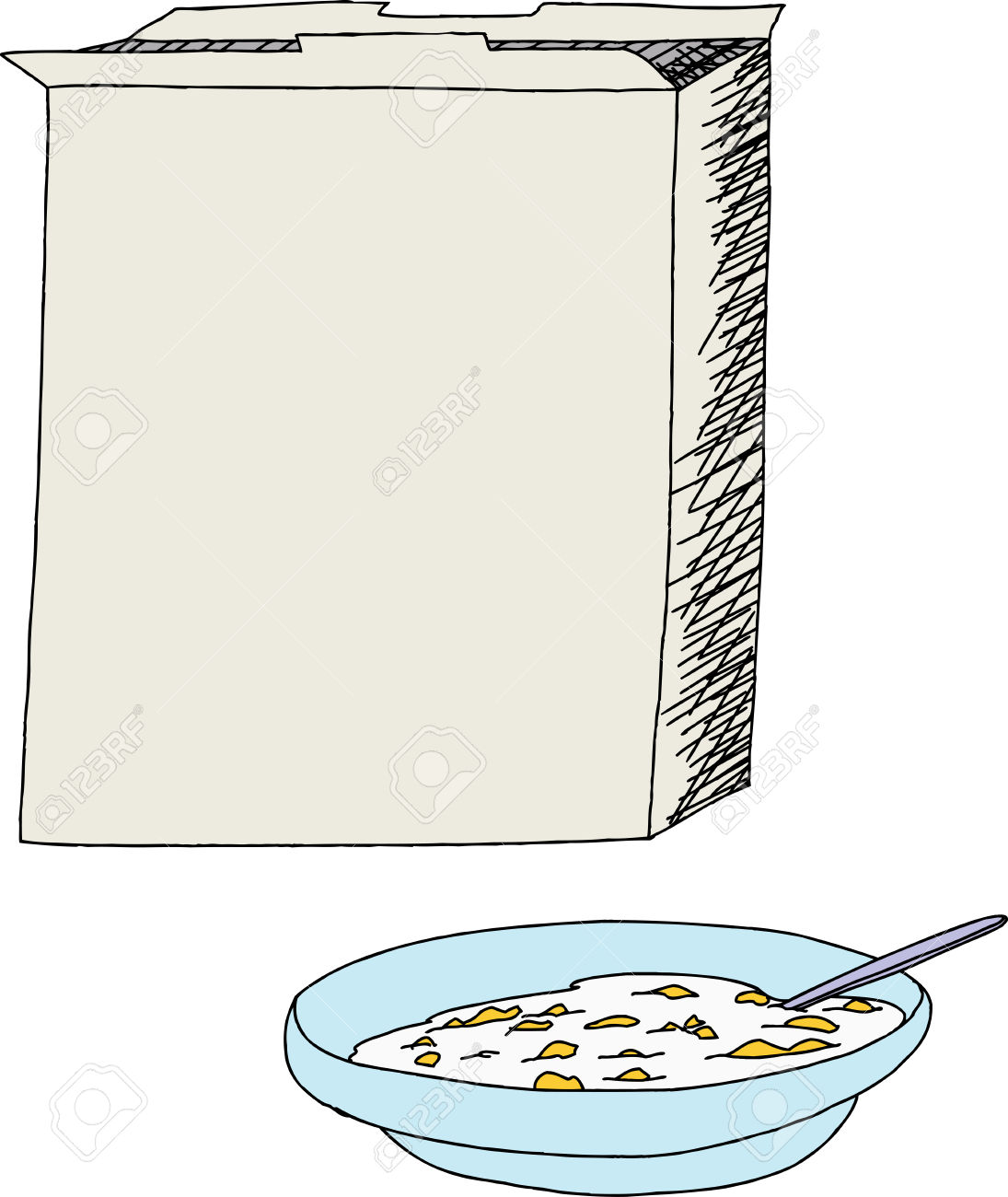 cereal boc clipart #8