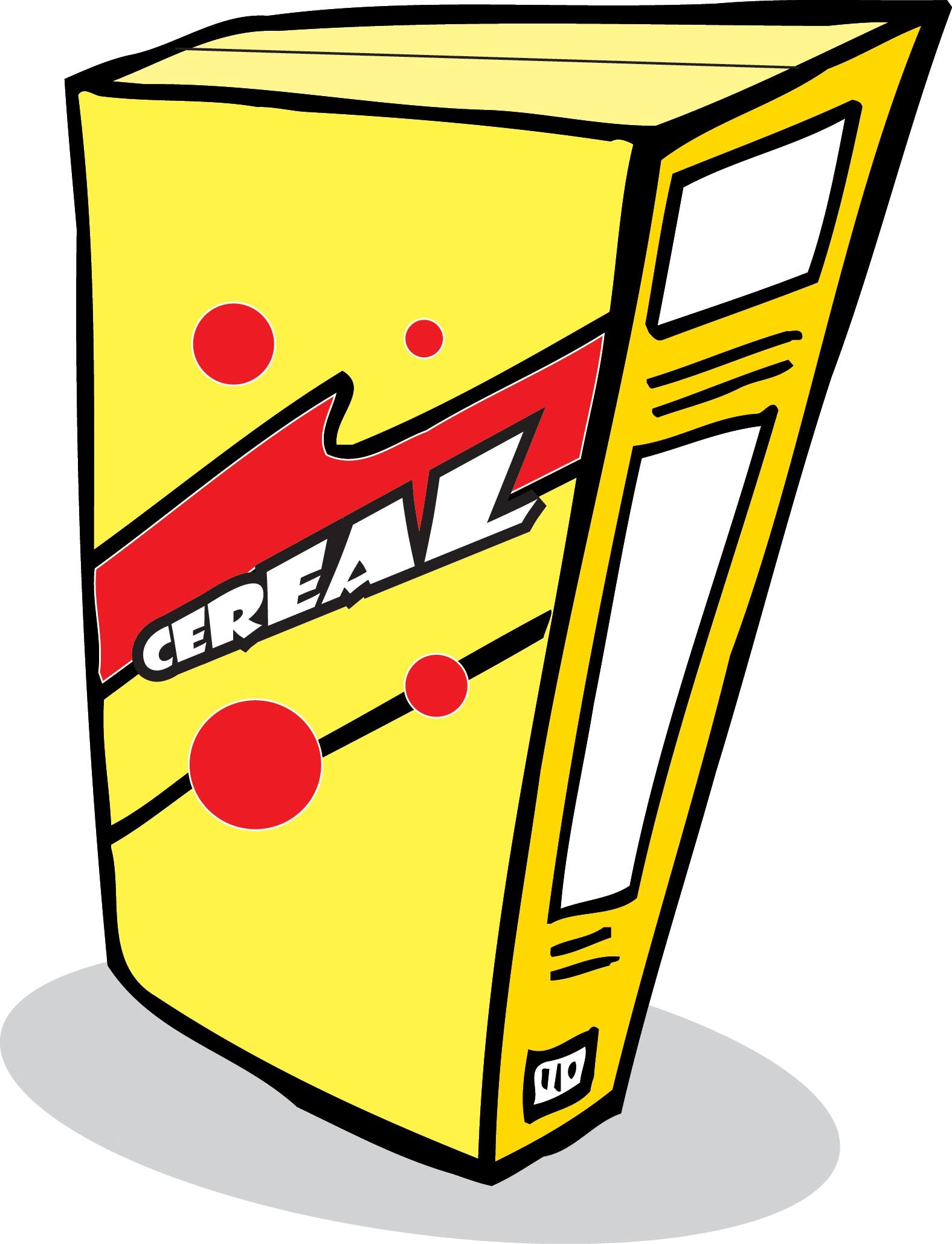 Cheerios Cereal Box Clipart#2083690.