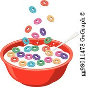 Cereal Bowl Clip Art.