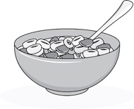 Free Cereal Clipart Black And White, Download Free Clip Art, Free.