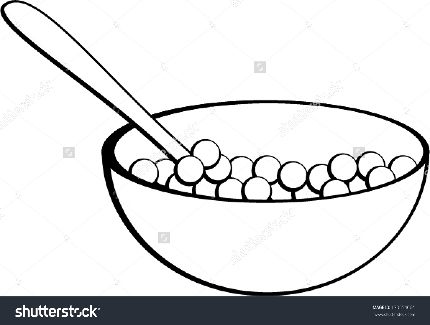 Pictures Of Cereal In A Bowl.