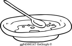 Cereal Bowl Clip Art.