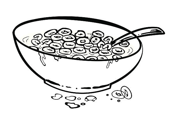 Top 60 Empty Cereal Bowl Clip Art, Vector Graphics and Illustrations.
