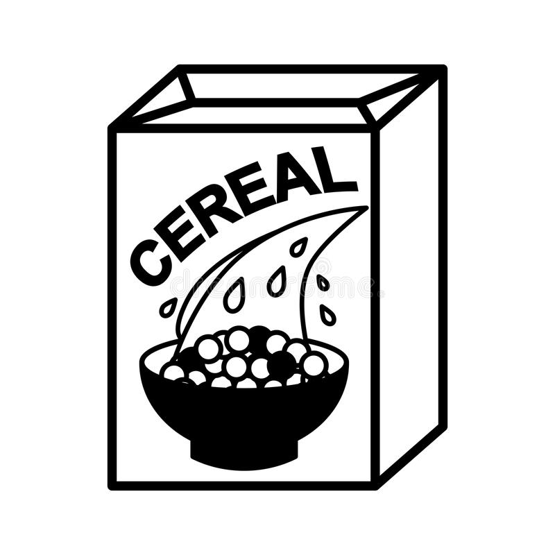 Cereal Box Stock Illustrations.