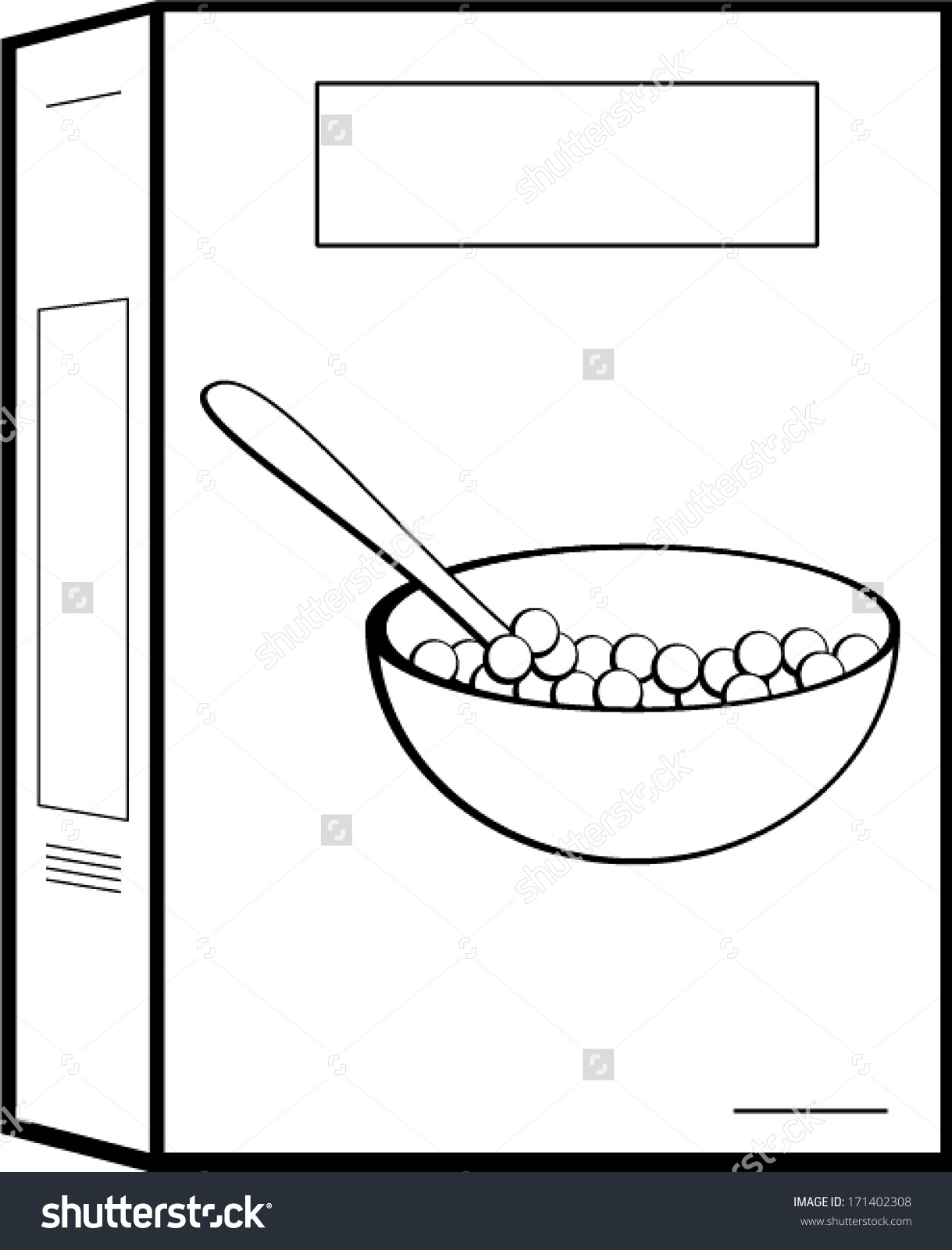 51+ Cereal Box Clipart.