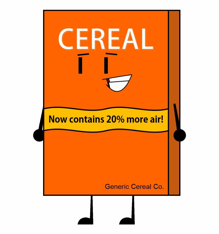 Bfdi Cereal Box , Png Download.