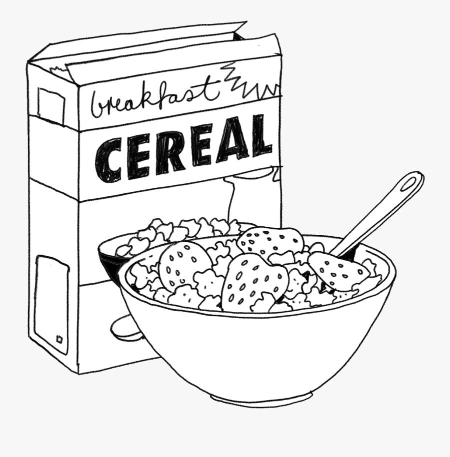 Transparent Cereal Bowl Clipart.