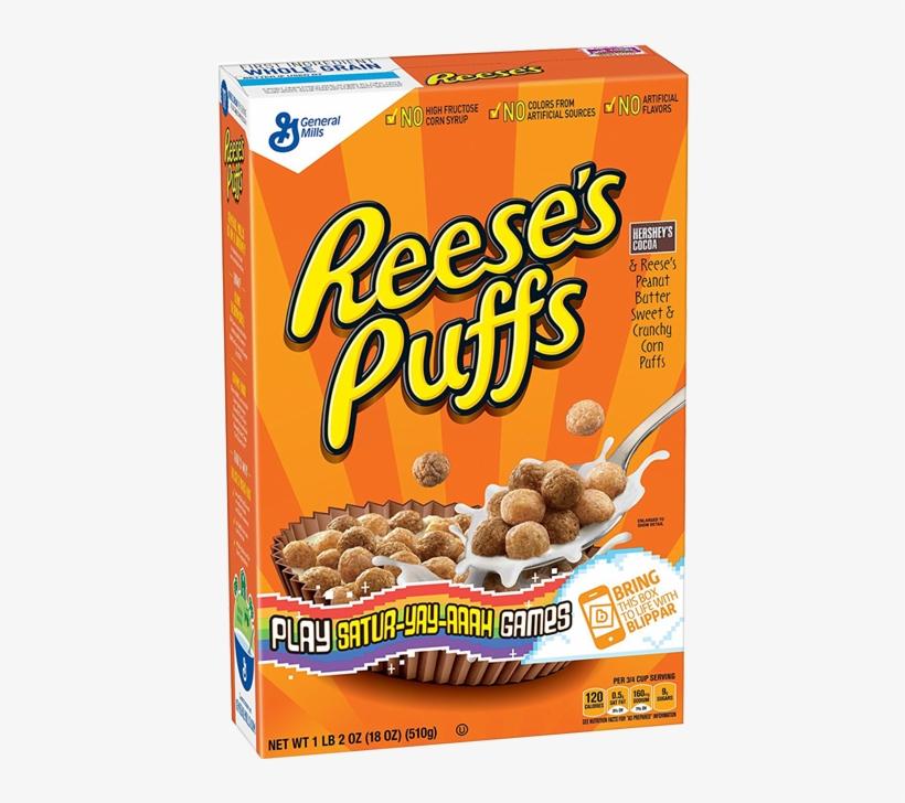 Reeses Peanut Butter Puffs.