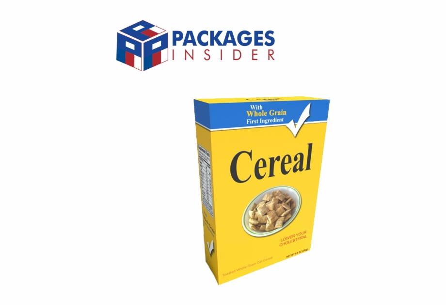 Cereal Boxes.