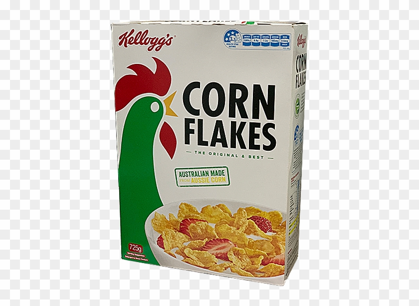 Corn Flakes Cereal Box, HD Png Download.