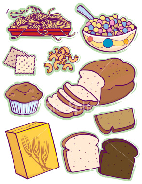 Bread And Grains Clipart.