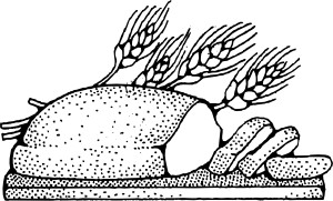 Grain (Bread and Cereal) Clipart.