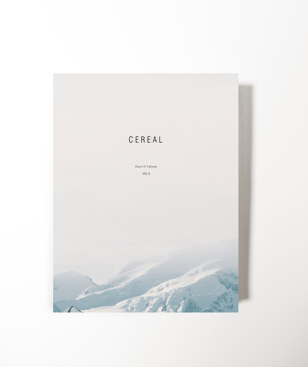 Cereal Magazine Redesign — SWAN LEE.
