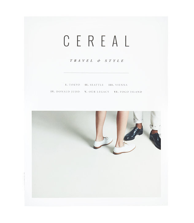 Cereal Magazine White Cereal Magazine 11.