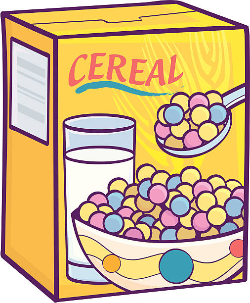 Box Of Cereal Clipart.