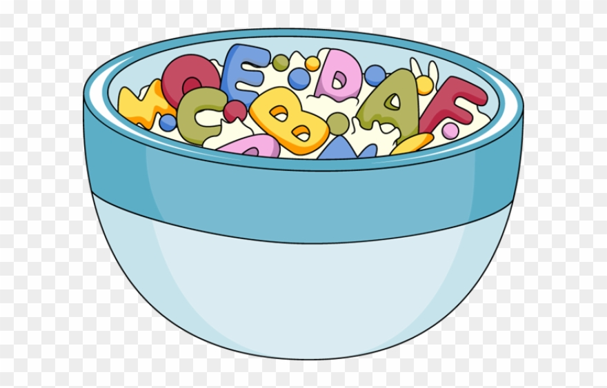 Cereal Clipart Breakfast Time.