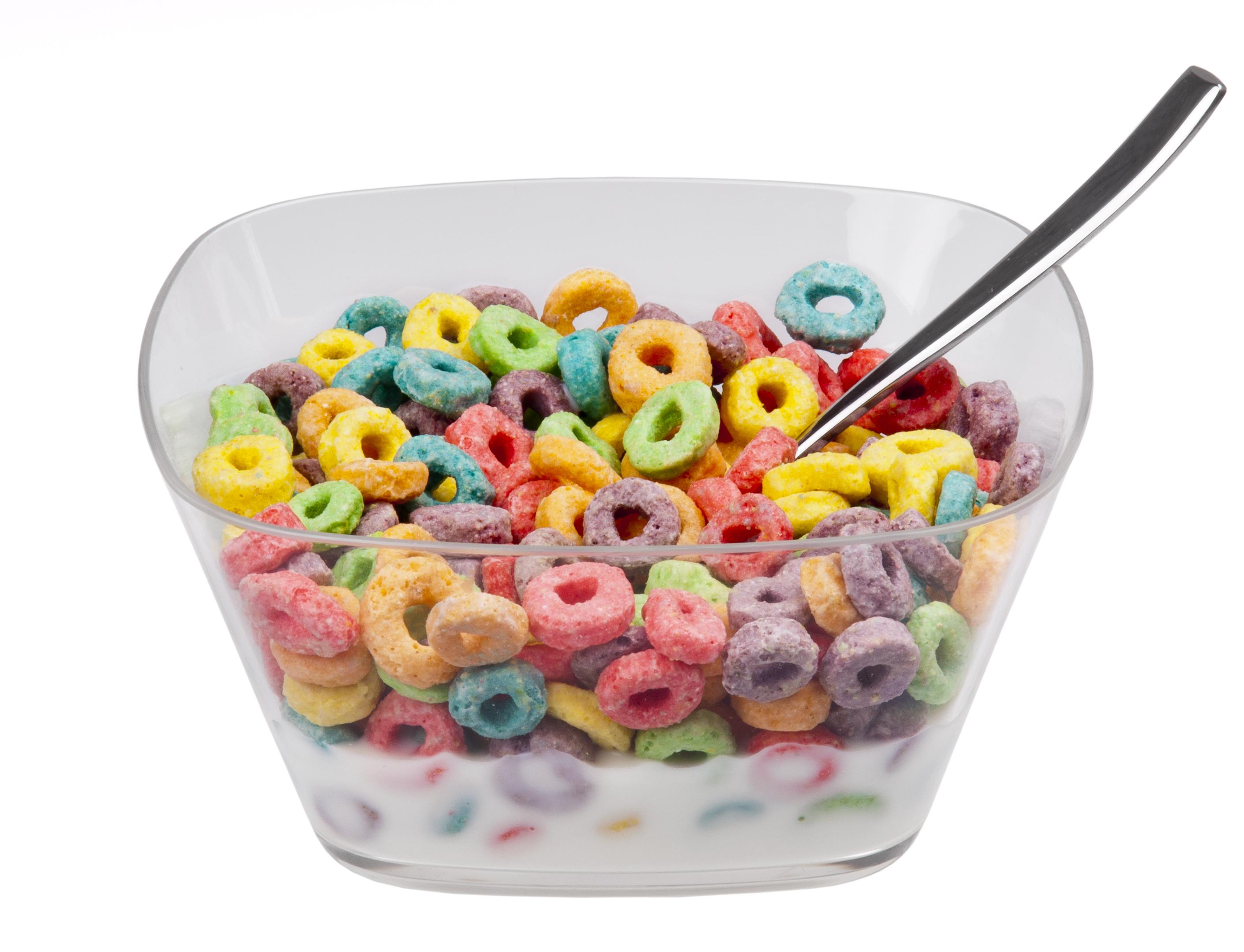 Cheerios Cereal Box Clipart.