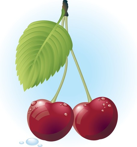 Free Red Cherry, Cliparts.