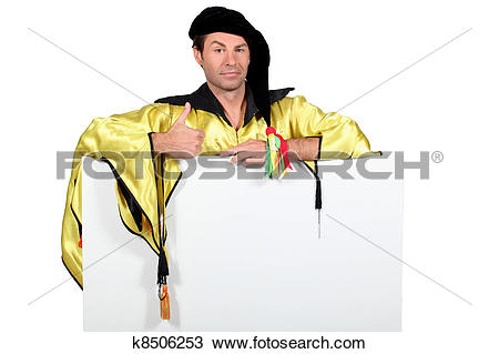 Stock Photo of student wearing ceremonial dress k8506253.