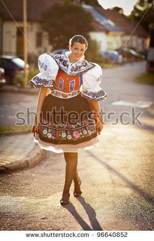 Folk Costume Stock Photos, Royalty.