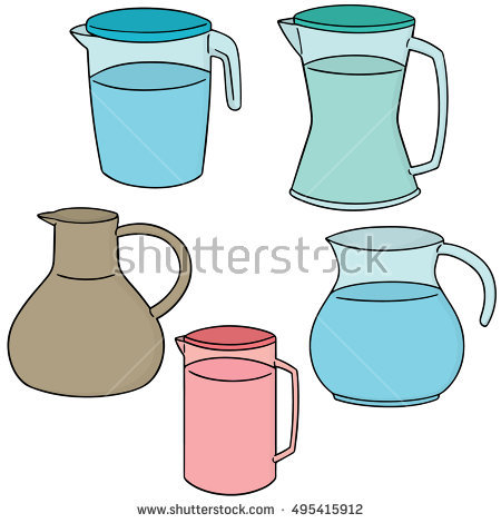Water Earthenware From Pouring Stock Photos, Royalty.