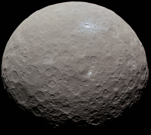Wow! Asteroid/Dwarf Planet Ceres Once had an Ocean?.
