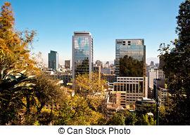 Pictures of Cerro Santa Lucia in Downtown Santiago, Chile.
