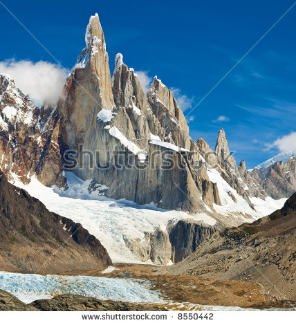 Cerro Torre Stock Photos, Royalty.