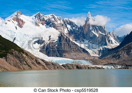 Pictures of Cerro Torre mountain, Patagonia, Argentina csp5519528.
