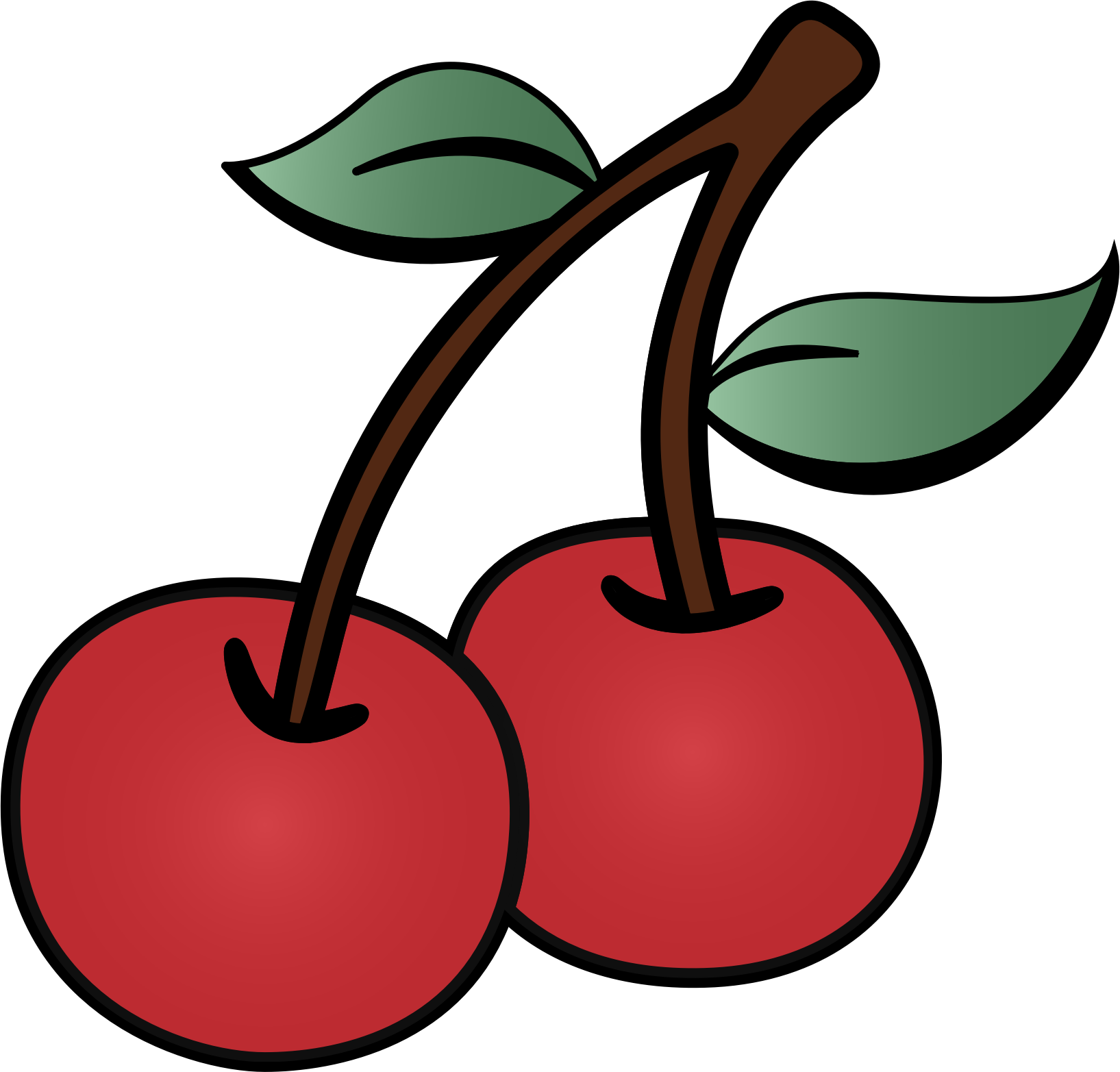 Cherries Clip Art.