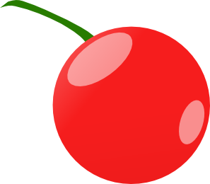 Cherry clip art Free Vector / 4Vector.