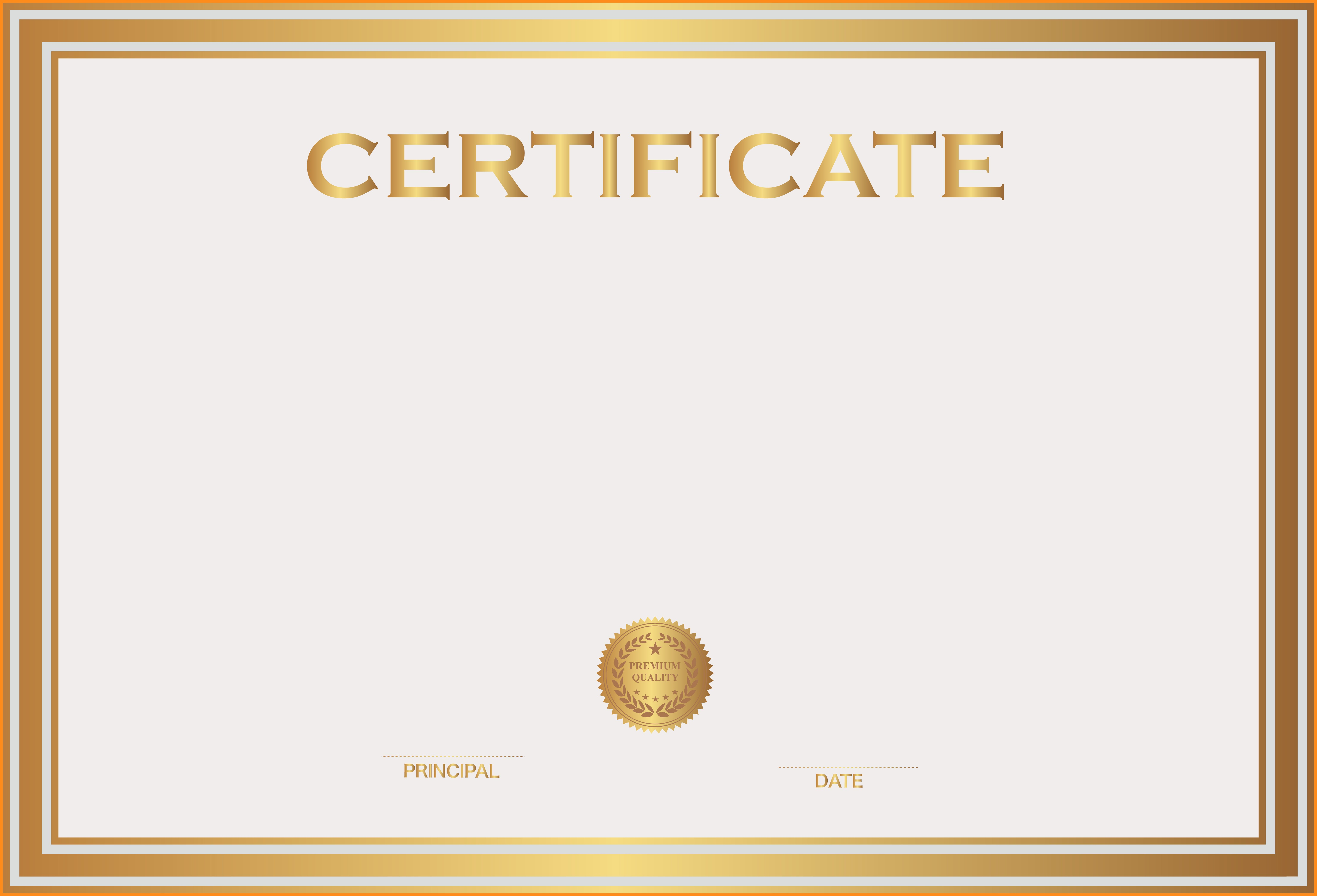 Certificate Background Png 4.