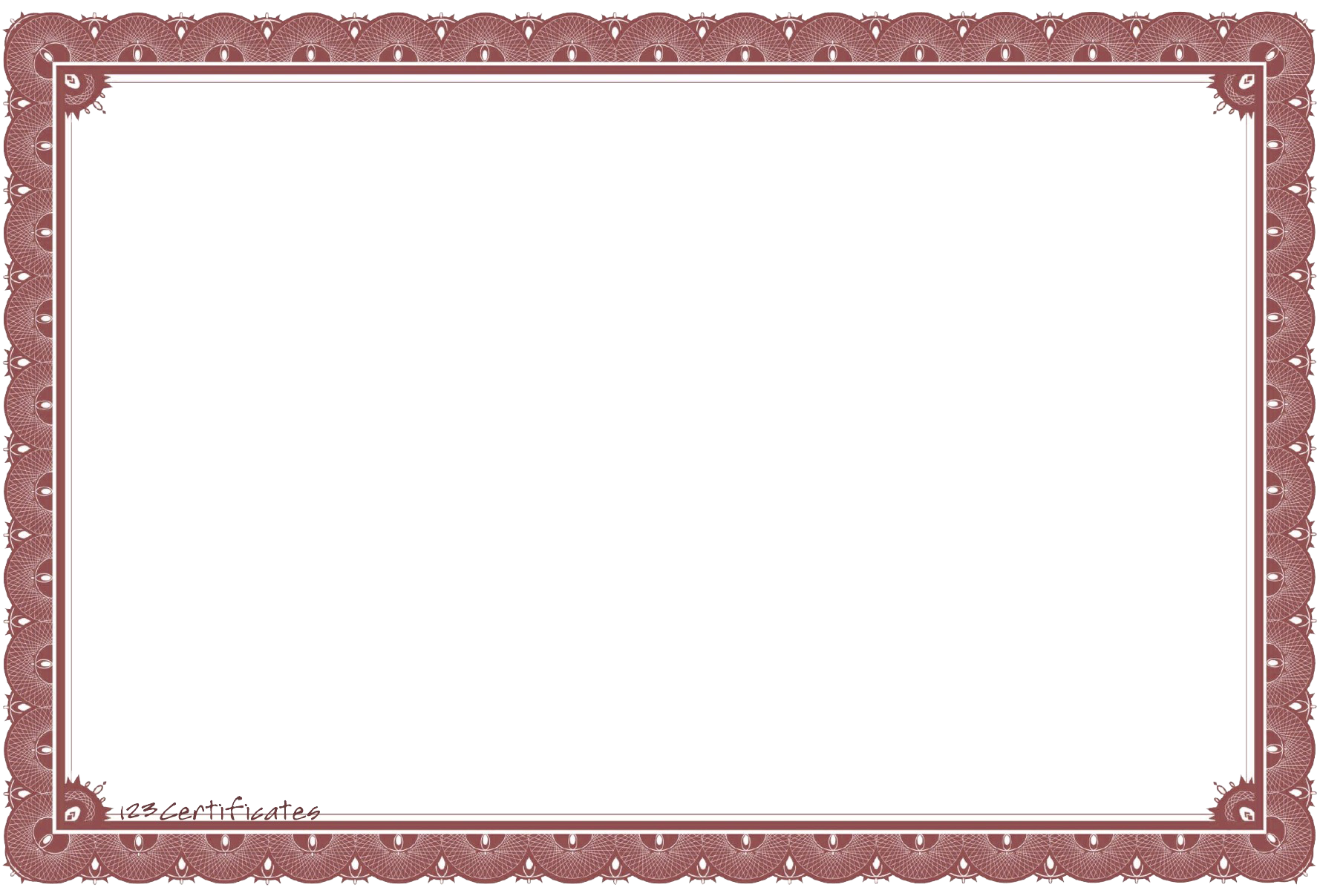 Certificate Template PNG Transparent Certificate Template.PNG Images.
