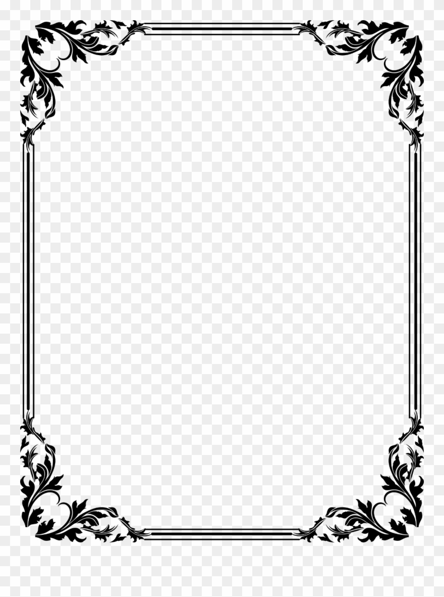 Free Download Clip Art Border Clipart Frames.