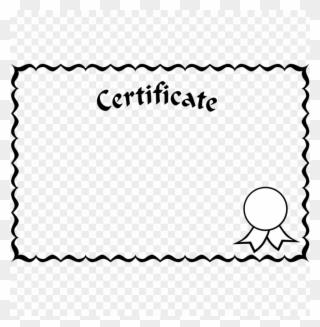 Free PNG Certificate Borders Clip Art Download.