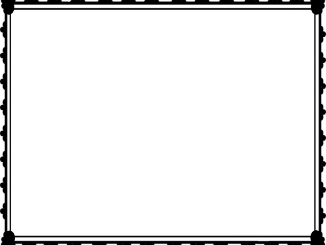 HD Certificate Border Clipart.